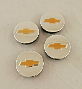 Genuine Oem Set Of 4 Chevy Wheel Center Caps With Emblem 2 1 4 Inch 9597551