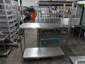 Commercial All Stainless Steel Rack 48x18x66 813