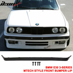 Fits 84 92 Bmw E30 Lower Valance Oe Is V2 M t Msport Front Bumper Lip Spoiler