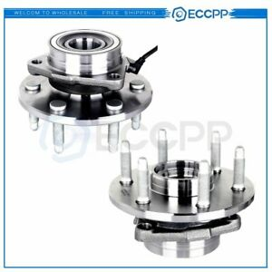 2 Front Wheel Hub Bearing Assembly Fits Chevy Silverado 1500 Tahoe Escalade 4wd