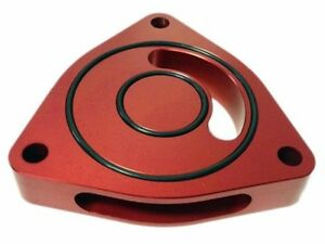 Torque Solution Blow Off Bov Sound Plate Red Fits 2011 2016 Sonata 2 0 Turbo