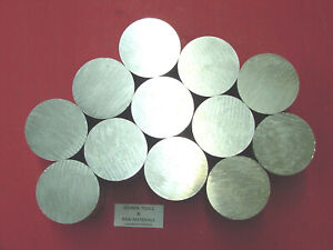 12 Pieces 2 1 2 Aluminum Round 6061 Solid Rod 1 Long T6 Lathe Ber Stock 2 5 od