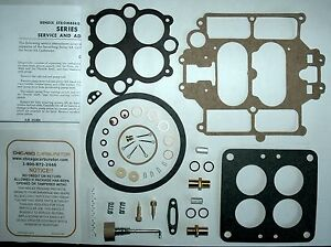 1952 54 Carb Kit Stromberg 4a Model 4 Barrel Buick 70 Ethanol Tolerant Does 3 Mo
