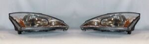 Right And Left Side Replacement Headlight Pair For 2000 2002 Ford Focus