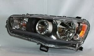 Left Side Headlight Assembly For 2008 2009 Mitsubishi Lancer To 11 2008