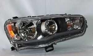 Right Side Headlight Assembly For 2008 2009 Mitsubishi Lancer to 11 2008