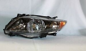 Left Side Replacement Headlight Assembly For 2009 2010 Toyota Corolla S Xrs