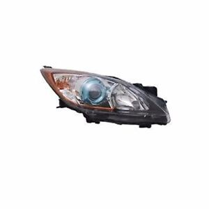 Right Side Replacement Headlight Assembly For 2012 2013 Mazda 3 6 Speed