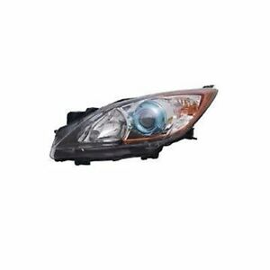 Left Side Replacement Headlight Assembly For 2012 2013 Mazda 3 6 Speed