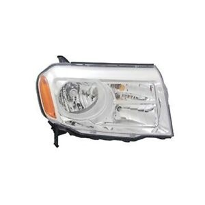 Right Side Replacement Headlight Assembly For 2012 2013 Honda Pilot