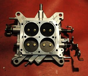 Holley 4781 850 Cfm Double Pumper Base Plate Assembly Complete New Perfect
