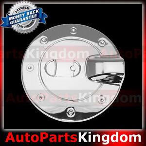 2004 2013 Chevy Colorado Triple Chrome Plated Abs Gas Fuel Tank Door Cover Truck