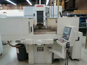 2010 Kent Usa Rotary Table Surface Grinder Programmable Kgs 1020sd 10 X 20
