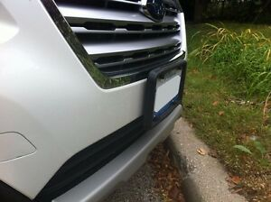 A Nasa like Rubber License Plate Bracket Frame Holder Guard Bumper For Subaru