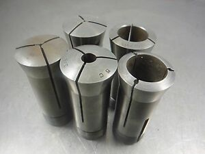 Hardinge 5c Collet Lot Qty5 Includes 3 32 And 15 16 Sizes loc1399b 7