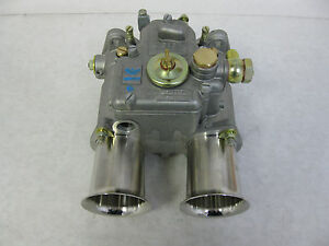 Genuine Weber 45 Dcoe 9 Carburetor 19600 017 W 65 Minute Dvd 45 Dcoe New