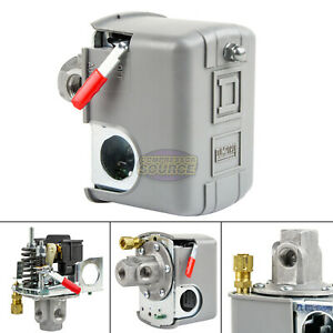 Square D 95 125 Psi 4 Port Air Compressor Pressure Switch 9013fhg14j52m1x New