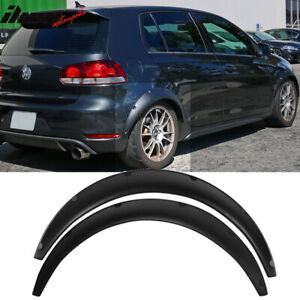 Universal Fender Flares 2 Piece 70mm Wide Rear Flexible Yet Durable Pu