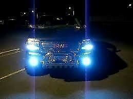 Real Blue H4 9003 Hb2 Headlights 10 000k Xenon Hid Replaces Ultra Silverstar
