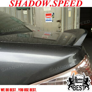 Unpainted Atl Style Rear Boot Trunk Lip Spoiler For Honda Civic 2001 05 Coupe