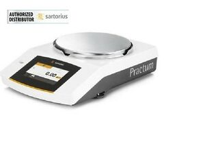Sartorius Practum6101 1s Lab Balance 6100x0 1g jewelry Scale Touch Screen New