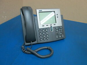 Cisco Systems 7940 Cp 7940g Ip Business Phone S n Fch10169yu9