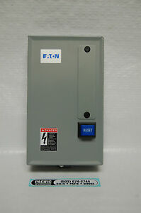 Eaton Air Compressor Magnetic Motor Starter 25 30 Hp 460 Volt Three Phase