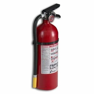 Kidde 21005782 Pro Series 340 Fire Extinguisher Abc Rechargeable