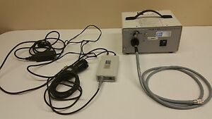 Br Surgical Hls 150 Light Source Camera Control Head And Fiber Optic Inv 2947