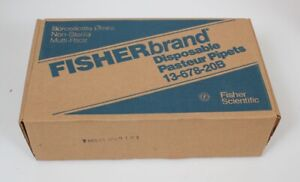 1 Box lot Of 360 Fisherbrand Disposable Pasteur Pipets 13 678 20b