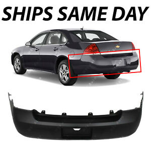 New Primered Rear Bumper Cover Replacement For 2006 2011 Chevy Impala 19120960
