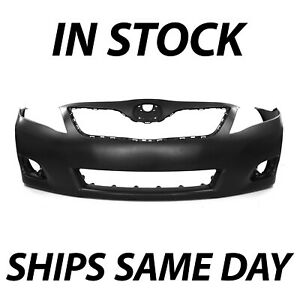 New Primered Front Bumper Cover Fascia For 2010 2011 Toyota Camry Sedan 10 11