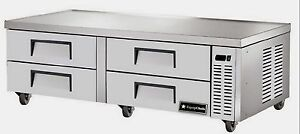 New Equipchefs Cb 72 72 Refrigerated Chef Base W 4 Drawers On Casters Cb 72