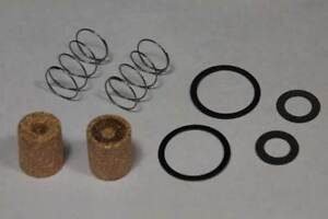 New 8pc Fuel Filter Kit Holley Or Rochester Quadrajet Carburetor Bronze Filters