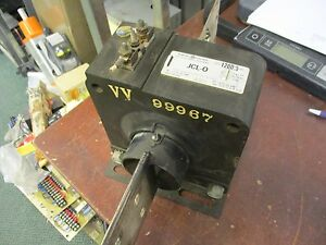 Ge Type Jcl 0 Current Transformer 750x28g3 1200 5a Ratio 10kv Bil 24 400hz Used