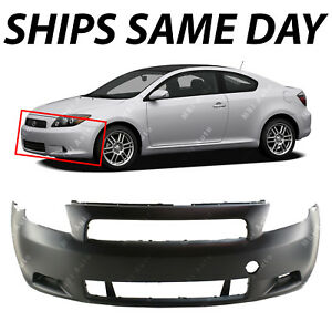 New Primered Front Bumper Cover Fascia Replacement For 2005 2010 Scion Tc