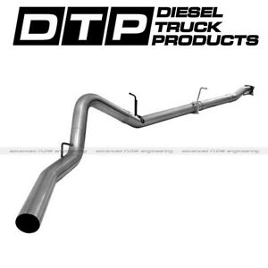 Afe 4 Cat back Exhaust Dpf Delete Chevy Gmc Duramax Diesel 11 15 Stainless