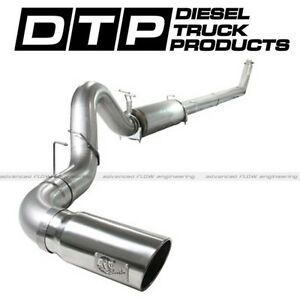 Afe 5 Turbo Back Exhaust Fits Dodge Ram Cummins Diesel 5 9l 94 02 Stainless