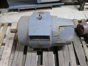 Westinghouse Ac Motor 405t Frame 100hp 460v 1740rpm Twdp Enclosure Used