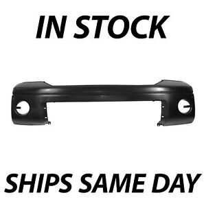 New Primered Front Bumper Cover For 2007 2013 Toyota Tundra Truck W Park Asst