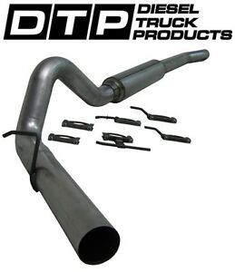 4 Mbrp Cat back Exhaust Ford Powerstroke Diesel 6 0l 03 07 s6208p