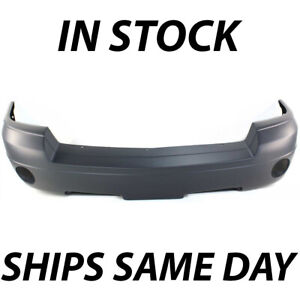 New Primered Front Bumper Cover For 2005 2007 Dodge Dakota Pickup Truck W Fog