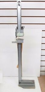 52 174 024 0 Fowler 24 600 Mm Vernier Height Gage fowler bsh b