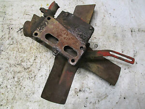 Farmall Ih 460 Gas Tractor Fan And Water Pump Assembly