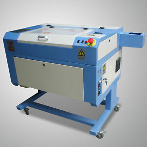 New 500x300mm 60w Laser Tube Co2 Usb Laser Engraving Cutting Machine