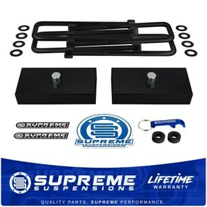 1 Rear Lift Leveling Kit For 2007 2020 Toyota Tundra 2wd 4wd Billet Blocks Pro