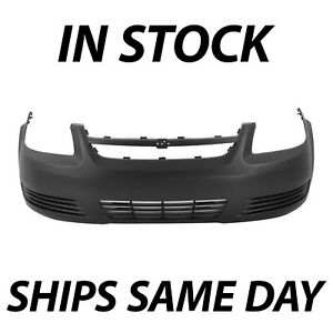 New Primered Front Bumper Cover Fascia For 2005 2010 Chevy Cobalt Base Ls Lt