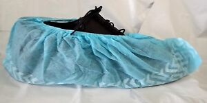 Disposable Shoe Covers Nonskid Medical Booties Size Large Sizes 7 11 Blue New