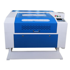 60w Laser Cutting Engraver Engraving Machine 700 500 mm Usb
