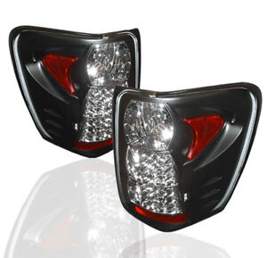 1999 2004 Jeep Grand Cherokee Limited Led Rear Tail Light Lamp Kit L R Black New